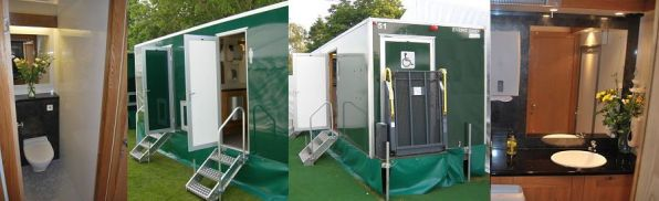 Luxury toilet hire prices Dorset