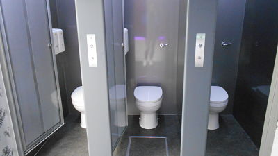 New range Luxury toilet hire