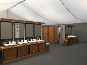 Designer Washrooms Moduvac toilets