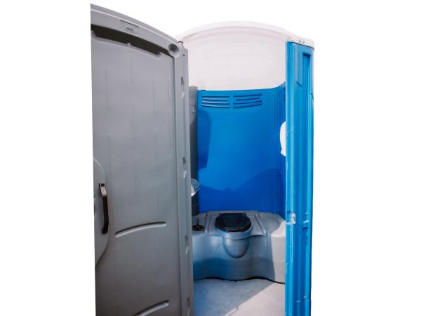 Plastic Single Poly Toilet