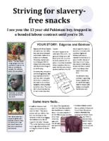 Slavery in Snacks