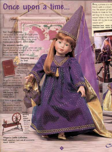 No Longer Manufactured Original Magic Attic Doll Megan