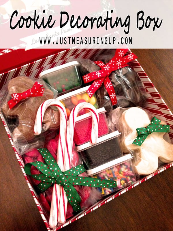 Sweet and Simple Cookie Decorating Gift by Just Measuring Up