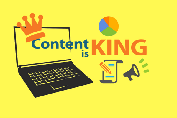 content is king - gain social media followers