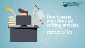 Articoolo Review – Create or Rewrite Unique Content on any Topic for less than USD1