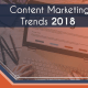 content marketing trends (2018)