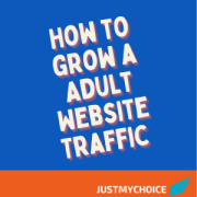 How to grow Adult Website Traffic organically