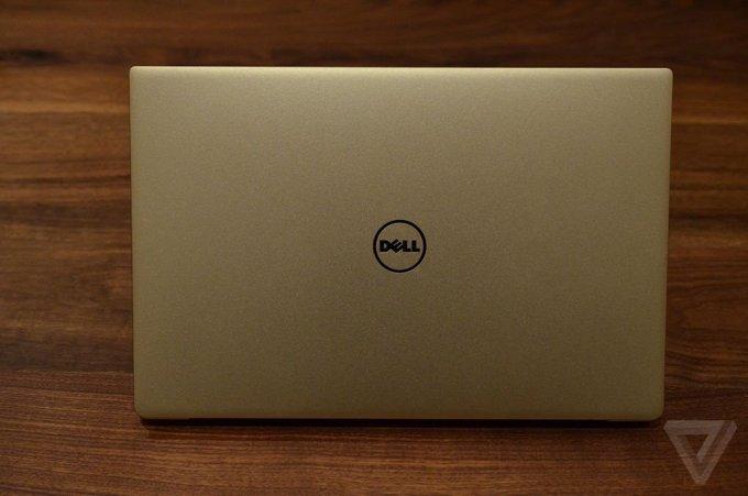A gold Dell