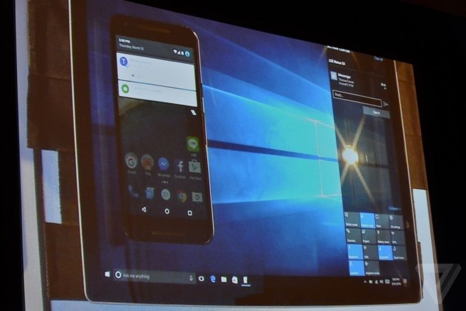 You will soon be able to receive your Android phone notifications on your Windows 10 PC