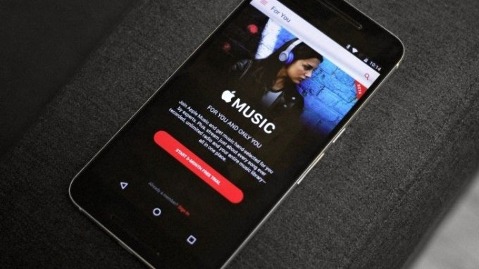 Apple Music now playing music videos on Android