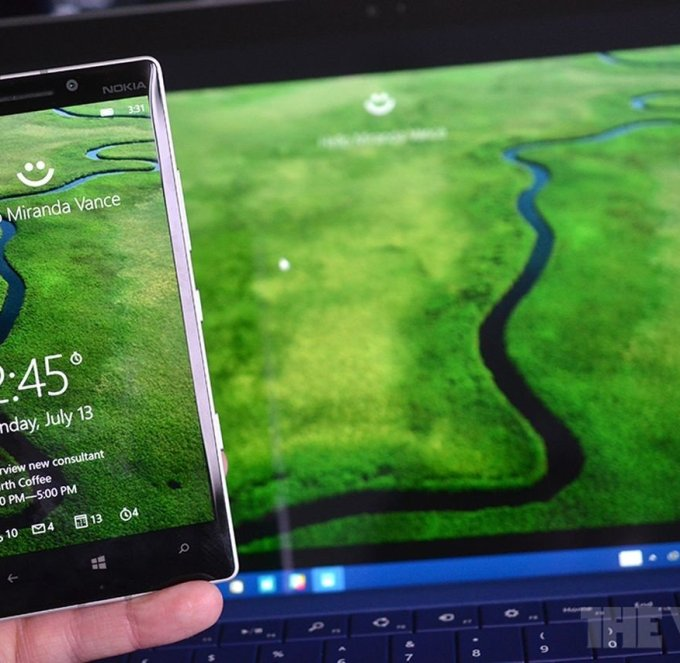 Microsoft promising soonest fingerprint scanners support for Windows 10 Mobile
