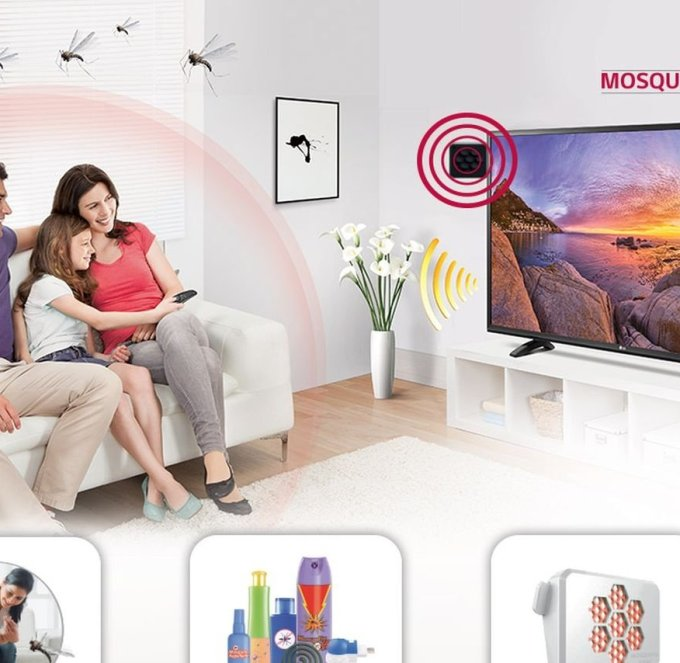 LG launches new TV that repels mosquitoes