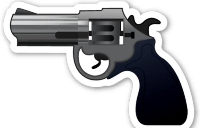 Goodnews or badnews? There will be no rifle emoji as Apple isn't allowing it on iOS