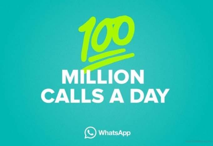 Can you believe over 100 million voice calls are made in WhatsApp every day