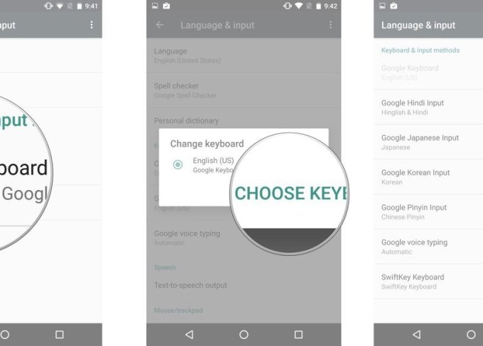 Tutorial: Setting a default keyboard on your Android phone