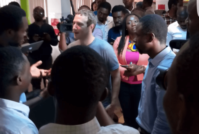 Did you know Mark Zuckerberg came to our very Lagos?