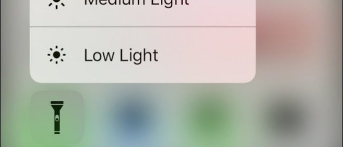 Tutorial: How can I change the iOS 10's Flashlight Intensity on my new iPhone