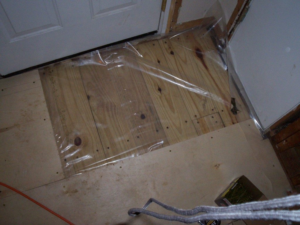 Demo Day And Subfloor Problems Just Needs Paint