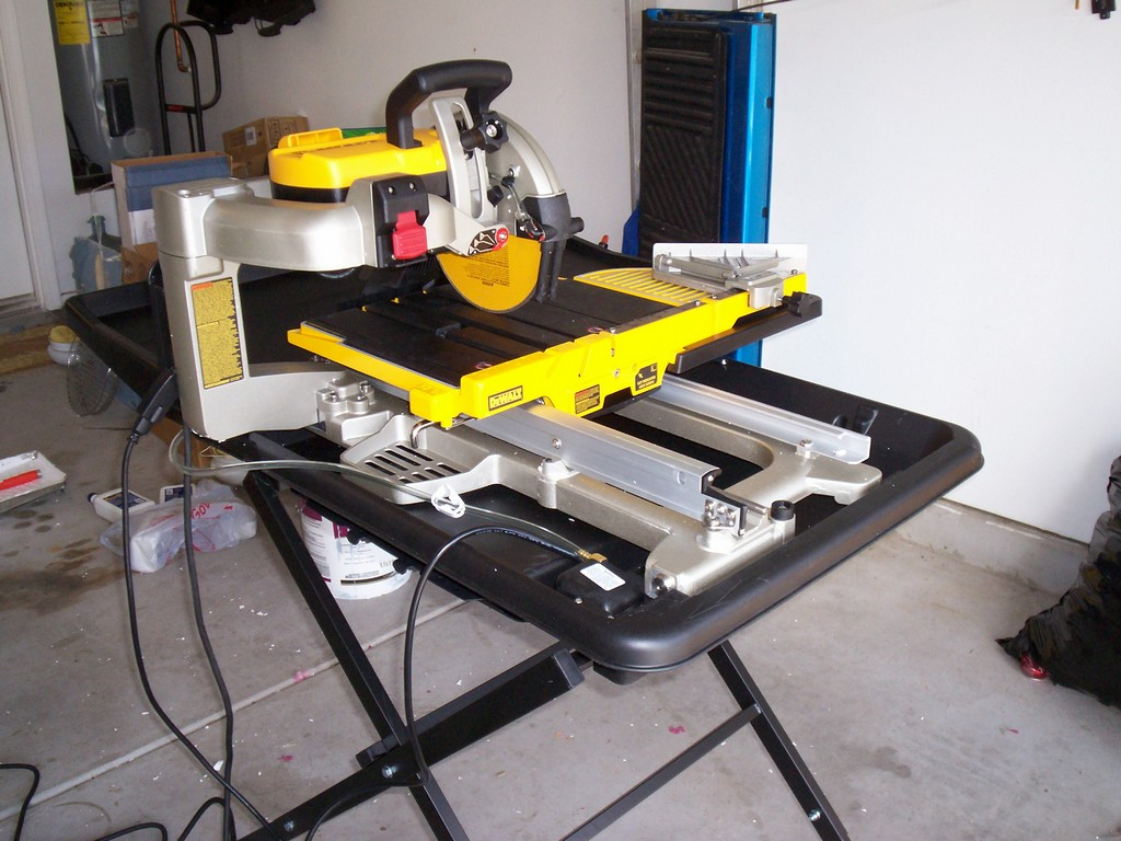 wet tile saw in 2020 for an engineer