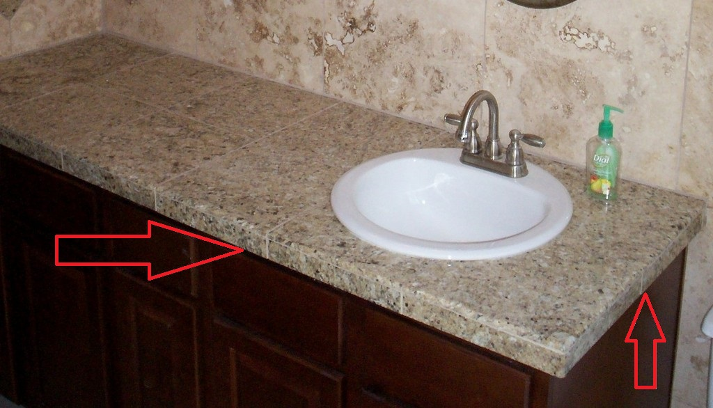 The Ultimate Guide on How to Build a Tile Countertop - Just Needs Paint