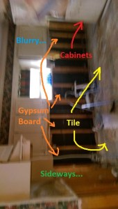 Let's breakdown that last photo as a potential buyer. The only thing it does not explicitly say, but is rather obvious: the listing agent does not care.