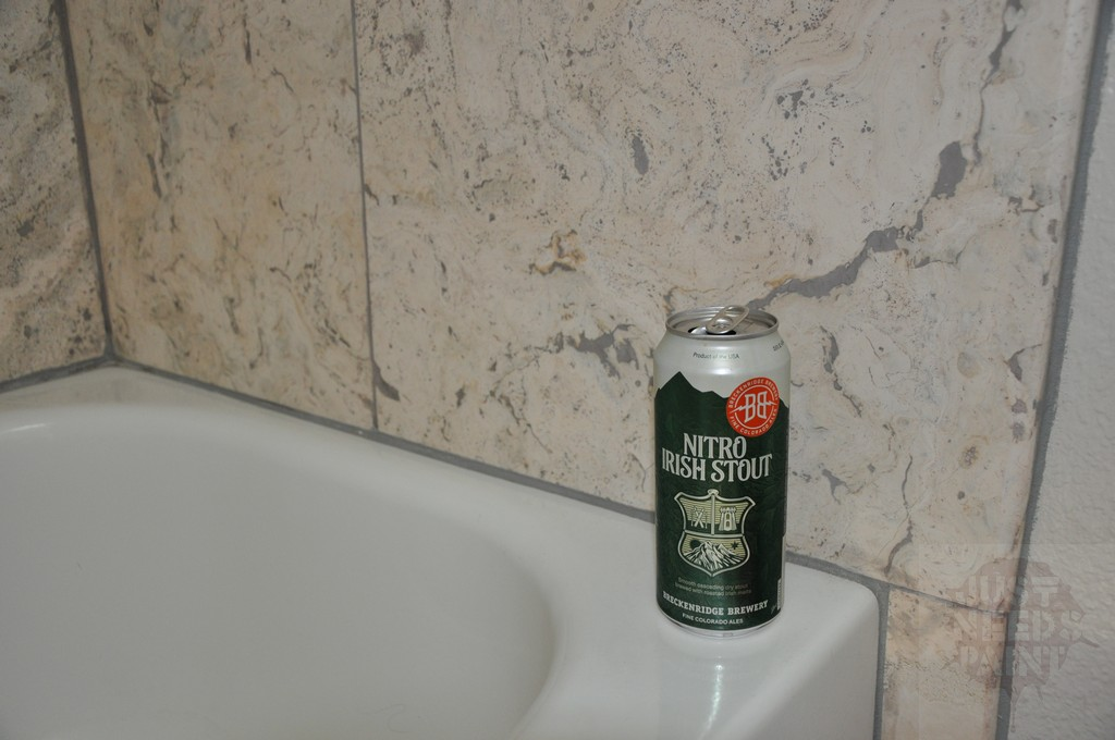 Beer Saved This Bathtub Tile Surround Install - Just Needs Paint