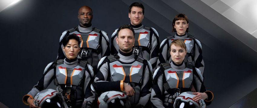 L'equipaggio della Deadalus