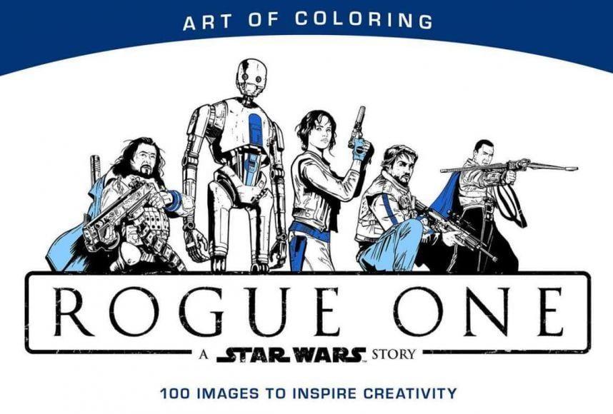 Libro da colorare di Rogue One