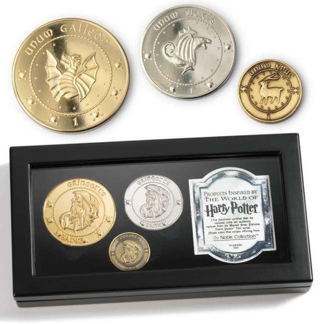 Set di monete della Gringot da collezione