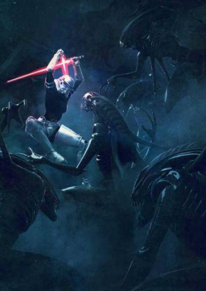 Guillem-H-Pongiluppi-star-wars-vs-aliens-7