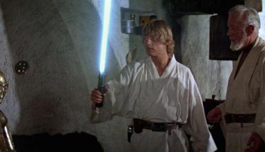 Luke Skywalker Spada Laser