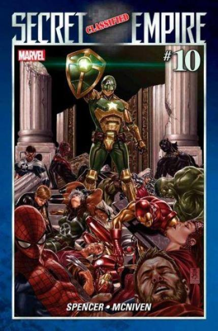 secret empire 10 Captain Hydra
