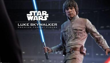 Action Figure di Luke Skywalker Sideshow Collectibles