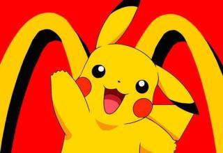 Pokémon mc donald's