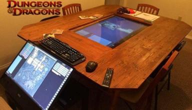 Dungeons and Dragons: un fantastico tavolo per giocare in 4K