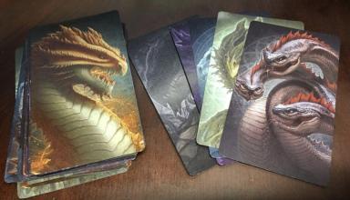 Book of Dragons: In arrivo un card game senza testo o numeri… ma pieno di draghi