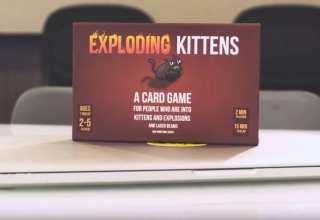 Exploding Kittens Crowdfunding