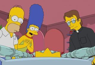 I Simpson Halloween Maggie L'Esorcista