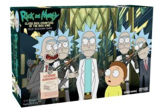 Rick and Morty Close Rick-Counters of the Rick Kind Deck-Building Game