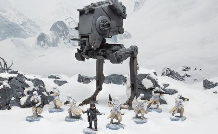 Star Wars Legion: Fantasy Flight ci mostra l'AT-ST e il T-47