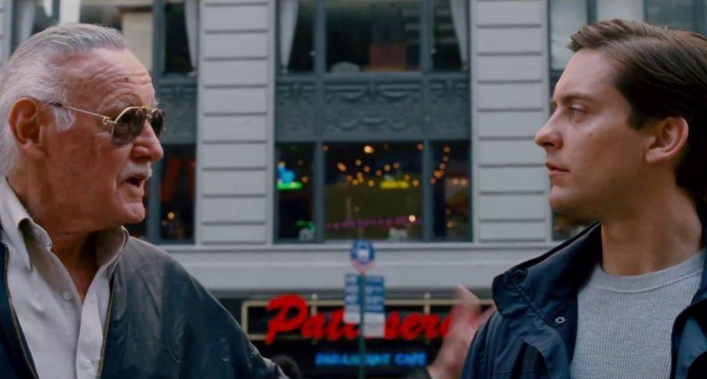Spider-man 3 (2007), uomo in Time Square