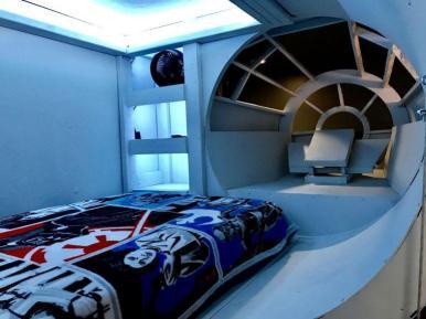 camera da letto Millennium Falcon (2)