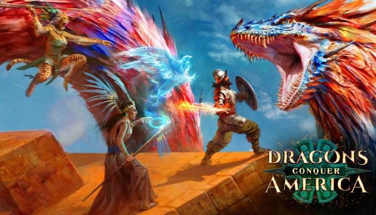 Dragons Conquer America: sbarca su Kickstarter il GdR fantasy al tempo della colonizzazione spagnola