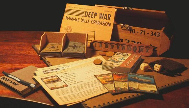 Ancora poche ore per portarvi a casa il KS di Deep War, il gioco di carte ambientato nella WWII