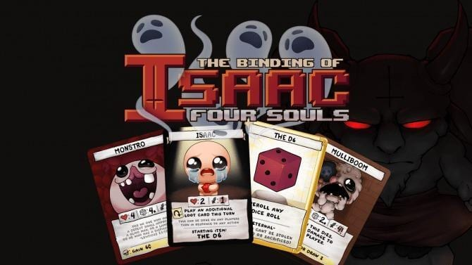 Grande successo per The Binding of Isaac: Four Souls su Kickstarter