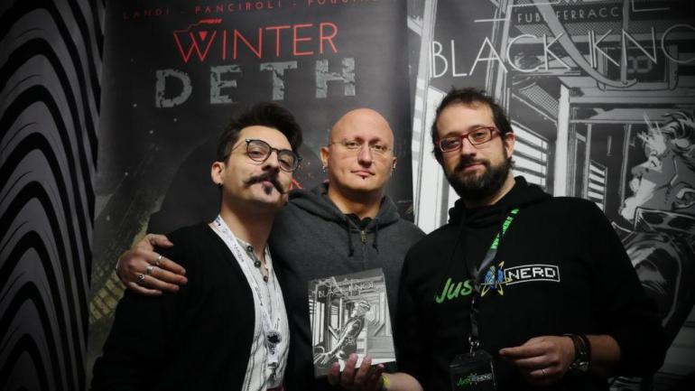 Noise Press Black Knot David Ferracci