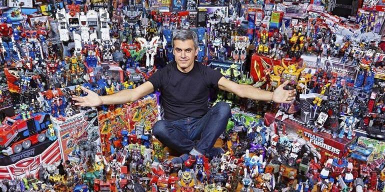 collezione transformers Louis Georgiou