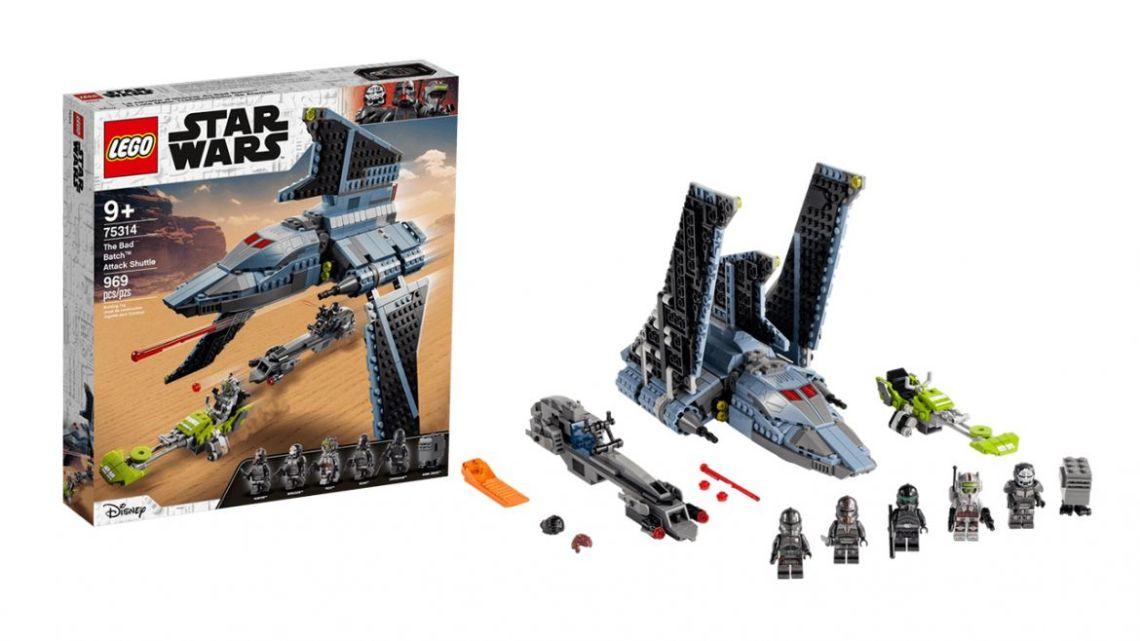 Lego star wars bad batch dettagli