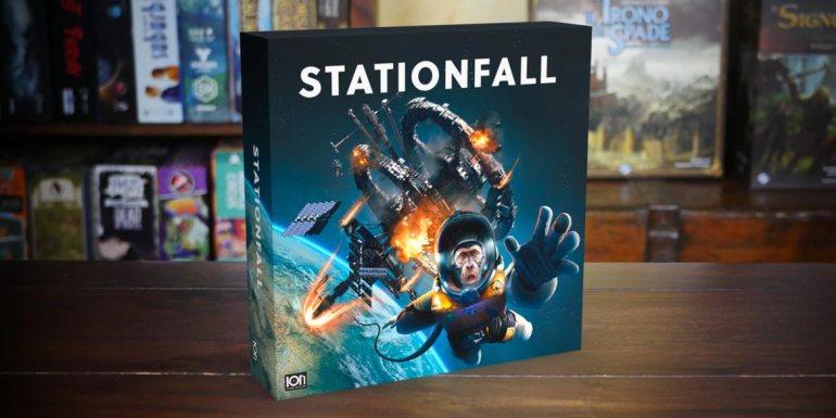 Stationfall gioco da tavolo board game