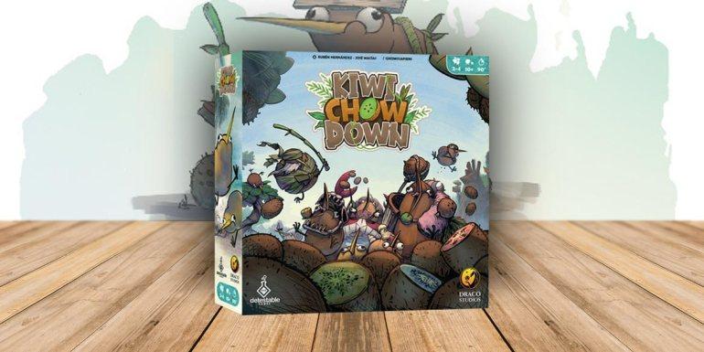 kiwi chow down gioco da tavolo boardgame